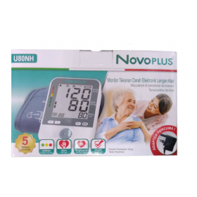 [FREE KLIKLI WIPES] NovoPlus Blood Pressure Monitor U80NH (RSP: RM199)