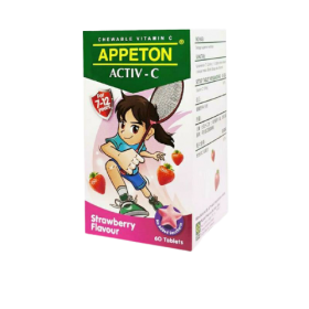 Appeton Activ-C 7-12 Years 60s (Strawberry)