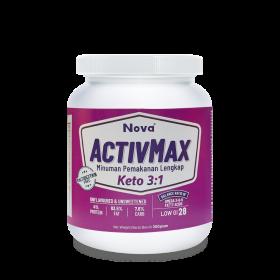 Nova Activmax Keto 3:1 300g (RSP: RM65.55)