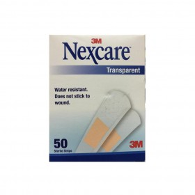 3M Nexcare Transparent Strips 50s (RSP: RM8.50)