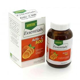 Appeton Essentials Activ-C 500 30s (RSP: RM39.20)