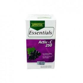 Appeton Essentials Activ-C 250 60s (RSP: RM39.20)
