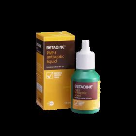 Betadine PVP-I Antiseptic Liquid 15ml (RSP: RM6.40)