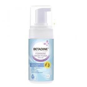 Betadine Feminine Foam Wash (Odour Control) 100ml (RSP: RM20.88)