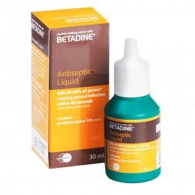 Betadine PVP-I Antiseptic Liquid 30ml (RSP: RM11.70)