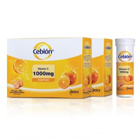 Cebion Effervescent Vitamin C 1000mg 4x10s (RSP: RM57.90)