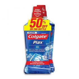 Colgate Plax Ice 2x750ml (RSP: RM36.90)