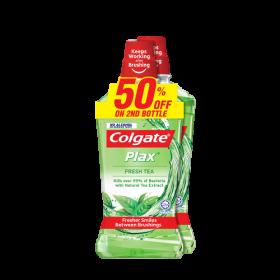 Colgate Plax Fresh Tea 2x750ml (RSP: RM36.90)