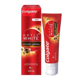 Colgate Optic White Volcanic Mineral Toothpaste 100g (RSP: RM14.40)