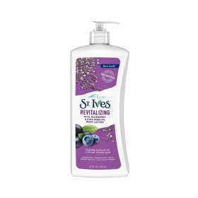 St. Ives Revitalizing Acai, Blueberry, & Chia Seed Oil Body Lotion 621ml (RSP: RM29.60)