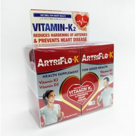 Live-well Artriflow-K 2x50s (RSP: RM128)