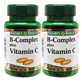 Nature's Bounty B-Complex Plus Vitamin C 2x45s (RSP: RM60.90)