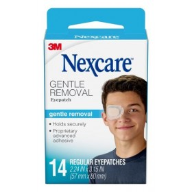 3M Nexcare Gentle Removal Eyepatch (Regular) 14s (RSP: RM27.25)