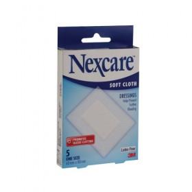3M Nexcare Soft Cloth Dressings 5s (RSP: RM9.35)