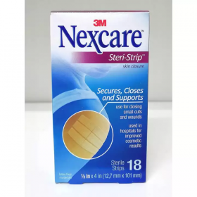 3M Nexcare Steri-Strip Skin Closure 18s (RSP: RM9.60)