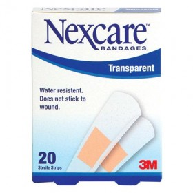 3M Transparent Sterile Strips 20s (Water-Resistant) (RSP: RM3.90)