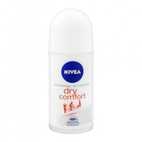 Nivea Dry Comfort Deodorant 50ml FOC Extra Whitening 25ml (RSP: RM12.70)