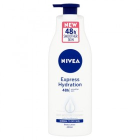 Nivea 48h Express Hydration Body Lotion 400ml (RSP: RM23.90)