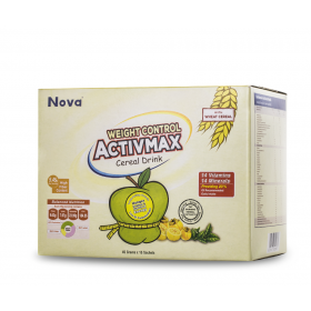 Nova ActivMax Weight Control Cereal Drink 15 Sachets (RSP: RM74.40)