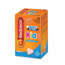 Redoxon Double Action Kids Chewable Tablets 60s (RSP: RM23.40)