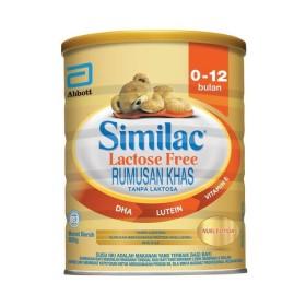 Abbott Similac Lactose Free 850g (0-12 Months)