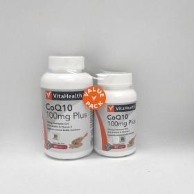 VitaHealth CoQ10 Plus 100mg 60s+30s (RSP: RM252.60)