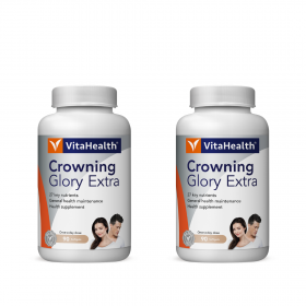 VitaHealth Crowning Glory Extra 2x90s (RSP: RM282)