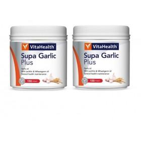 VitaHealth Supa Garlic Plus 2x150s (RSP: RM169.70)