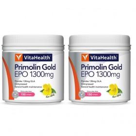 VitaHealth Primolin Gold EPO 1300mg 2x150s (RSP: RM279.20)